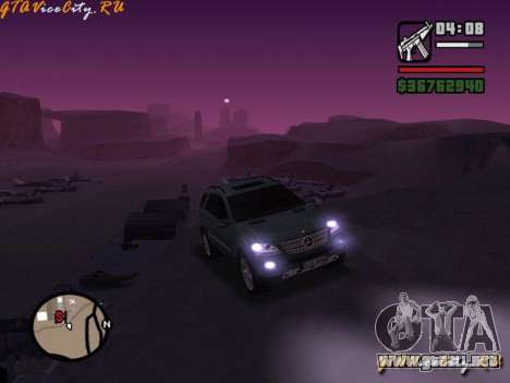 Mercedes-Benz ML 500 para GTA San Andreas