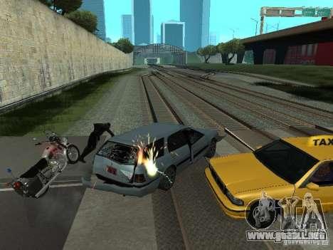 Las Granalladoras realista para GTA San Andreas segunda pantalla
