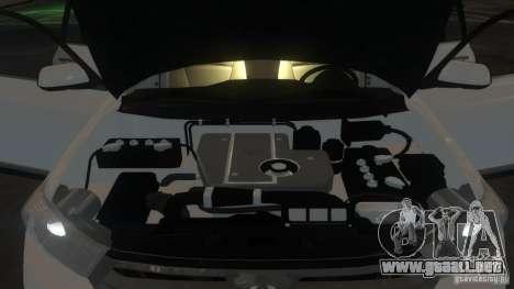 Toyota Highlander 2012 v2.0 para GTA 4 vista superior