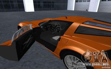 Spada Codatronca TS Concept 2008 para la visión correcta GTA San Andreas