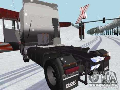 DAF XF105 para la visión correcta GTA San Andreas