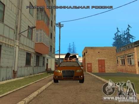Audi A4 Avant 2005 JDM Style para GTA San Andreas left