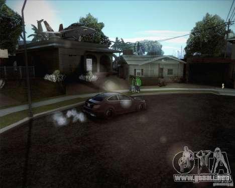 Nuevos caminos alrededor de San Andreas para GTA San Andreas sucesivamente de pantalla