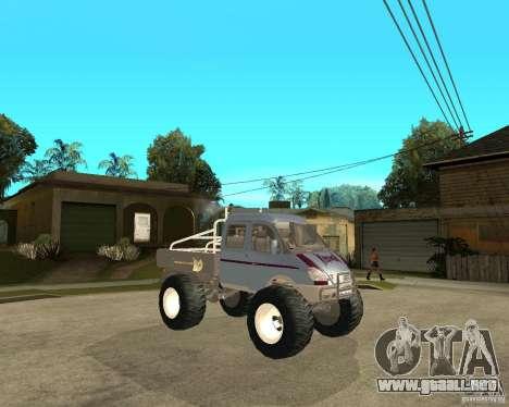 GAS KeržaK (Swamp Buggy) para la visión correcta GTA San Andreas