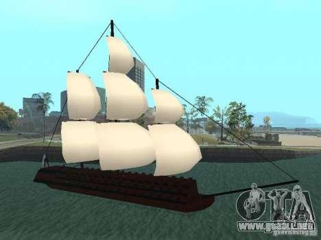 XVIII Century Battleship para GTA San Andreas