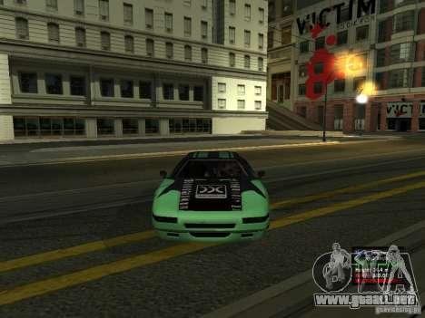 Teal Infernus para la visión correcta GTA San Andreas