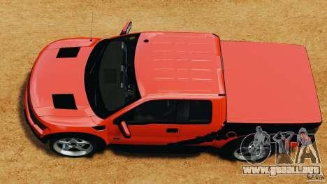 Ford F-150 SVT Raptor para GTA 4 visión correcta