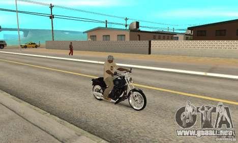 Harley Davidson FXSTBi Night Train para la visión correcta GTA San Andreas