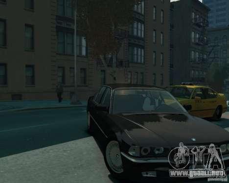 BMW 750i E38 1998 para GTA 4 visión correcta