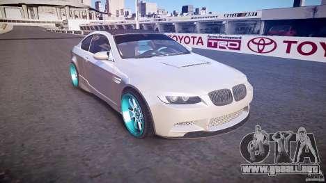 BMW E92 para GTA 4 vista interior