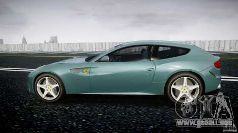 Ferrari FF 2012 para GTA 4 left