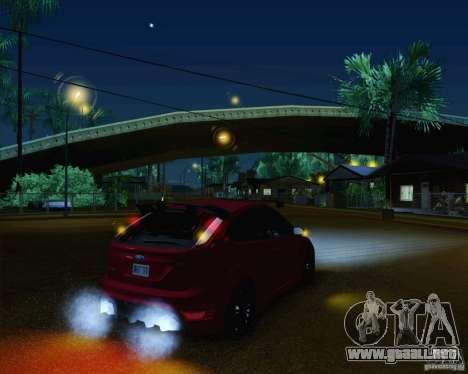 Ford Focus RS para GTA San Andreas interior