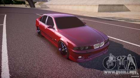 BMW M5 E39 Hamann [Beta] para GTA 4 vista interior