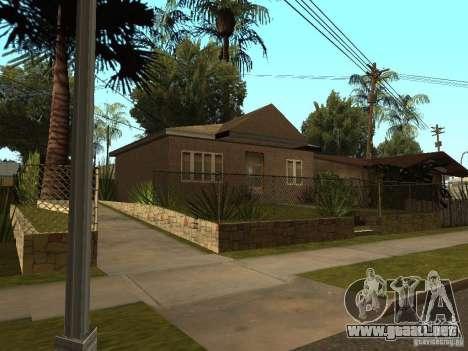 Casas Retekstur en la calle de surco para GTA San Andreas sucesivamente de pantalla