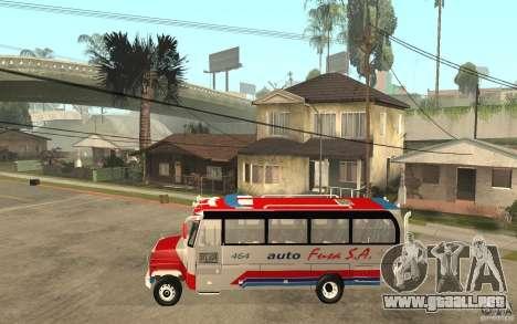 Kodiak B70 - Autofusa Colombia para GTA San Andreas left