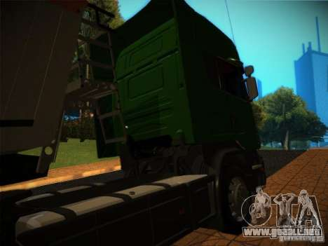Scania R580 para la vista superior GTA San Andreas