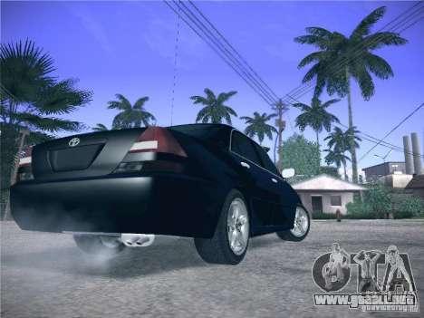 Toyota Mark II Grande para GTA San Andreas vista hacia atrás