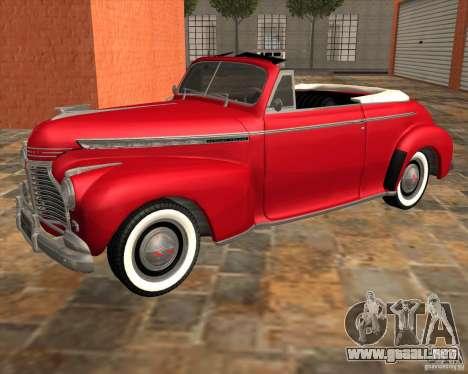 Chevrolet Special DeLuxe 1941 para GTA San Andreas