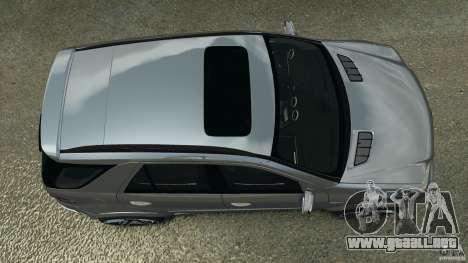 Mercedes-Benz ML63 AMG Brabus para GTA 4 visión correcta