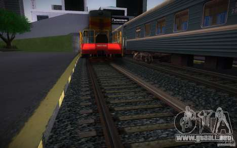 Rieles HD v 2.0 Final para GTA San Andreas
