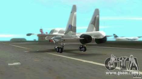 VC Air Force para GTA Vice City vista posterior