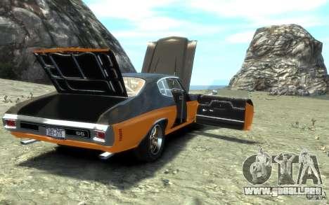 Chevrolet Chevelle SS 1970 para GTA motor 4