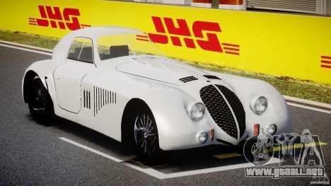 Alfa Romeo 2900B LeMans Speciale 1938 para GTA 4 visión correcta