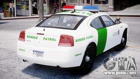 Dodge Charger US Border Patrol CHGR-V2.1M [ELS] para GTA 4 visión correcta