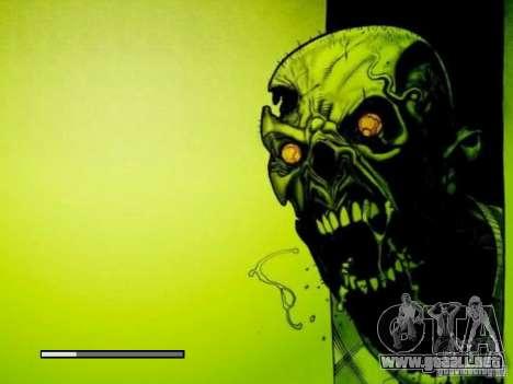 Pantalla de arranque de Zombies para GTA San Andreas