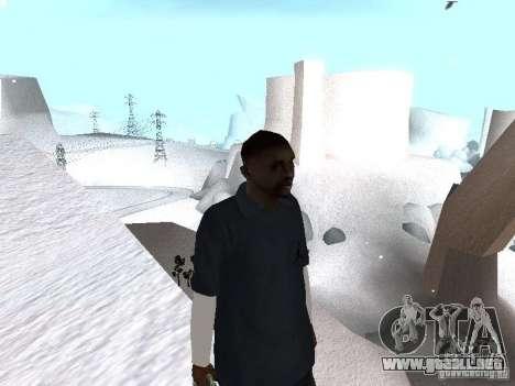 Snow MOD 2012-2013 para GTA San Andreas tercera pantalla