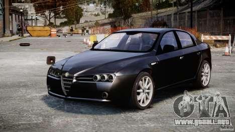 Alfa Romeo 159 Li v2 para GTA 4 visión correcta