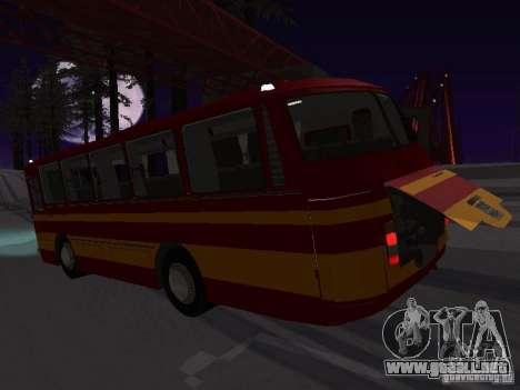 LAZ 697N para la visión correcta GTA San Andreas