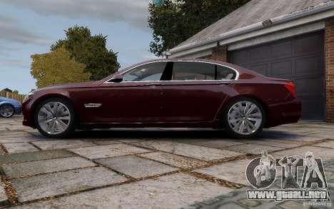 BMW 760Li 2011 para GTA 4 left