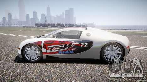 Bugatti Veyron 16.4 v1 para GTA 4 vista interior