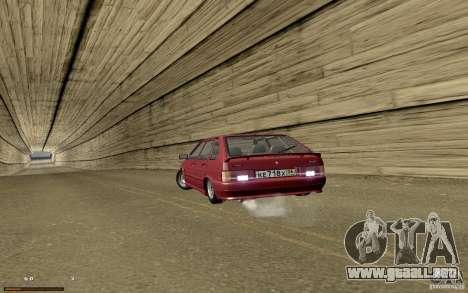 ВАЗ 2114 calidad para la vista superior GTA San Andreas