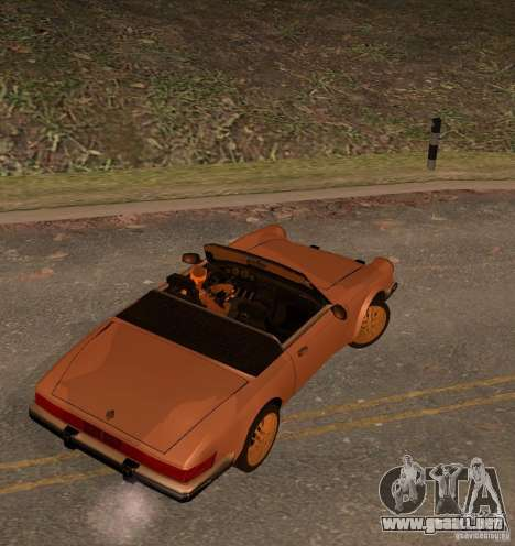 New Comet para GTA San Andreas left