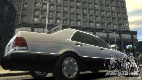 Mercedes-Benz 600SEL wheel1 tinted para GTA 4 visión correcta