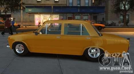 Fiat 124 para GTA 4 Vista posterior izquierda