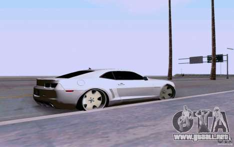 Chevrolet Camaro Super Sport 2012 para GTA San Andreas left