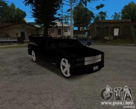Chevrolet Silverado 1996 Lowrider para GTA San Andreas