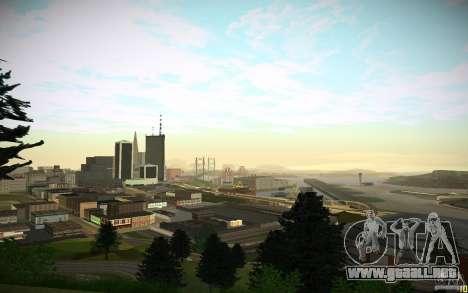 Timecyc para GTA San Andreas sucesivamente de pantalla