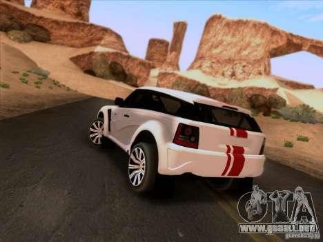 Bowler EXR S 2012 para GTA San Andreas left