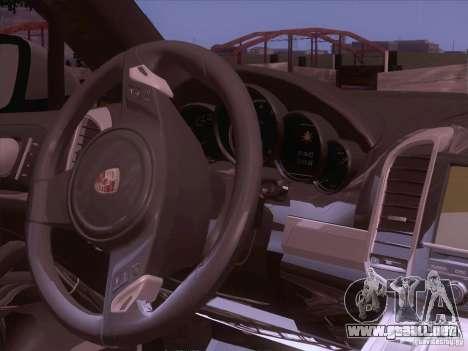 Porsche Cayenne Turbo 958 2011 V2.0 para visión interna GTA San Andreas