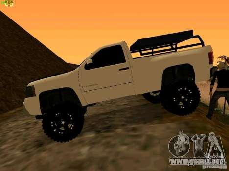 Chevrolet Silverado Final para GTA San Andreas left
