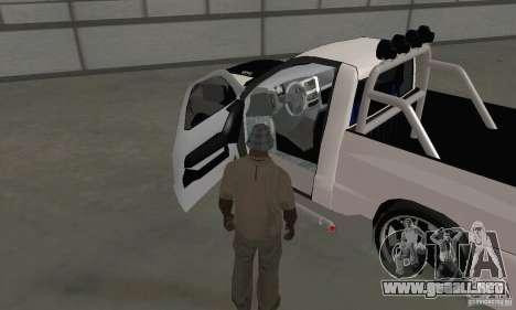 Dodge Ram SRT-10 Tuning para GTA San Andreas vista hacia atrás