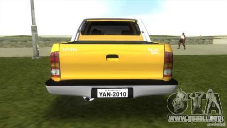 Toyota Hilux SRV 4x4 para GTA Vice City left