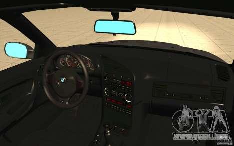 BMW E36 M3 - Stock para la vista superior GTA San Andreas