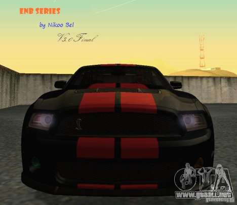 ENBSeries by Nikoo Bel v3.0 Final para GTA San Andreas