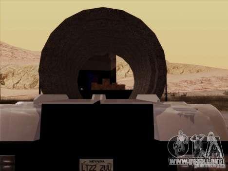 Trailer, Peterbilt 378 Custom para la visión correcta GTA San Andreas