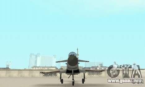 EF-2000 Typhoon V1.3 para vista inferior GTA San Andreas